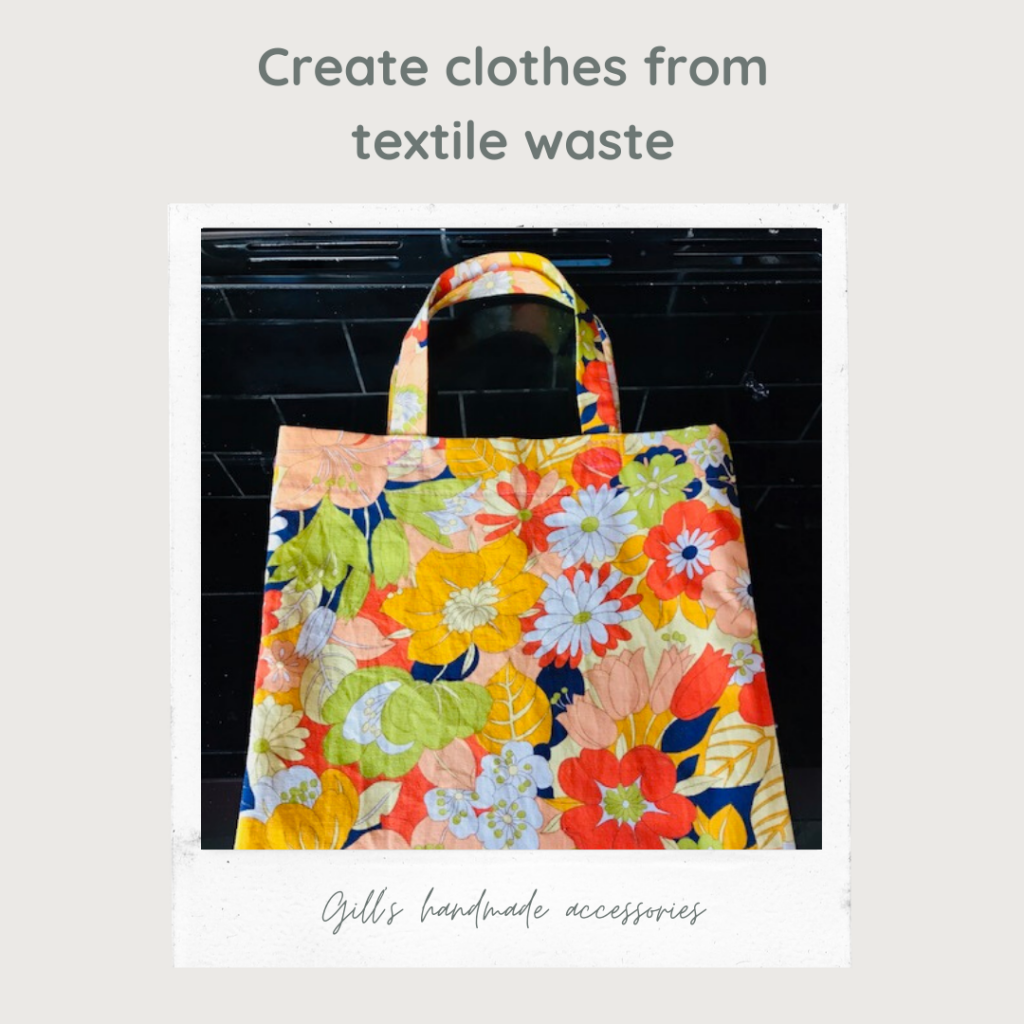 Emmanuel House Support Centre, Nottingham. Virtual fundraising ideas: create clothes from textile waste.